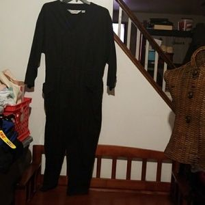 Diane Von Furstenberg black jumpsuit